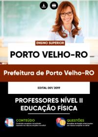 Professores Nível II - Educação Física - Prefeitura de Porto Velho-RO