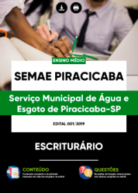 Escriturário - SEMAE PIRACICABA