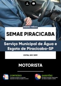 Motorista - SEMAE PIRACICABA