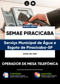 Operador de Mesa Telefônica - SEMAE PIRACICABA