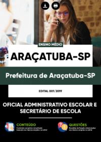 Oficial Administrativo Escolar - Prefeitura de Araçatuba-SP