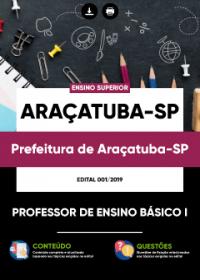 Professor de Ensino Básico I - Prefeitura de Araçatuba-SP