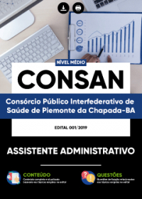 Assistente Administrativo - CONSAN
