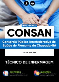 Técnico de Enfermagem - CONSAN