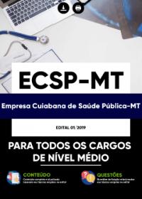 Conhecimentos básicos para todos os cargos de nível médio - ECSP-MT