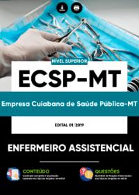 Enfermeiro Assistencial - ECSP-MT