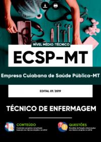 Técnico de Enfermagem - ECSP-MT