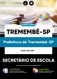 Secretário de Escola - Prefeitura de Tremembé-SP