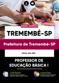 Professor de Educação Básica I - Prefeitura de Tremembé-SP