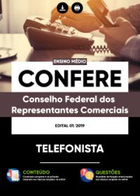 Telefonista - CONFERE