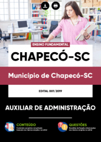 Auxiliar de Administração - Prefeitura de Chapecó-SC