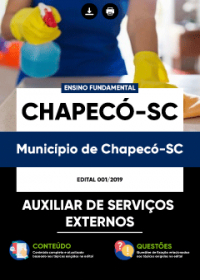 Auxiliar de Serviços Externos - Prefeitura de Chapecó-SC