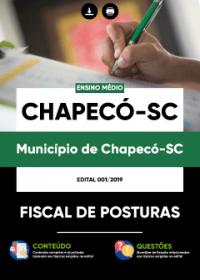 Fiscal de Posturas - Prefeitura de Chapecó-SC