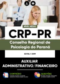 Auxiliar Administrativo-Financeiro - CRP-PR