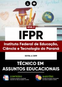 Técnico em Assuntos Educacionais - IFPR