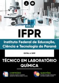 Técnico em Laboratório - Química - IFPR