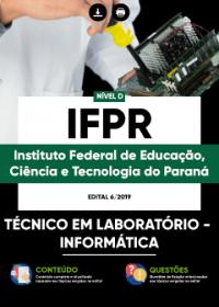 Técnico em Laboratório - Informática - IFPR