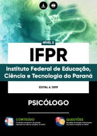 Psicólogo - IFPR