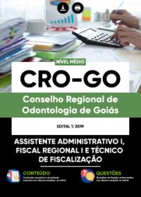 Assistente Administrativo I - CRO-GO