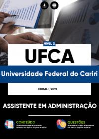 Assistente em Administração - UFCA