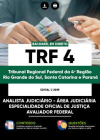 Analista Judiciário - Oficial de Justiça Avaliador Federal - TRF da 4ª Região