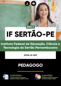 Pedagogo - IF Sertão-PE