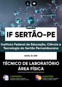 Técnico de Laboratório - Área Física - IF Sertão-PE
