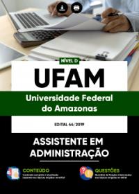 Assistente em Administração - UFAM