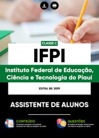 Assistente de Alunos - IFPI