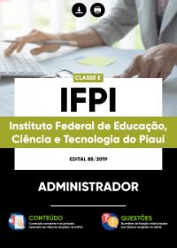 Administrador - IFPI