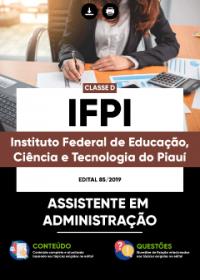 Assistente em Administração - IFPI