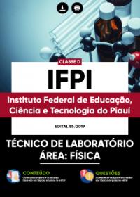 Técnico de Laboratório - Área: Física - IFPI