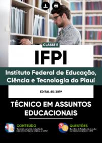 Técnico em Assuntos Educacionais - IFPI