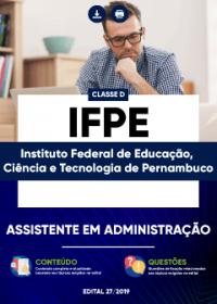 Assistente em Administração - IFPE