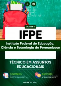 Técnico em Assuntos Educacionais - IFPE
