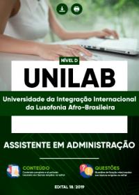 Assistente em Administração - UNILAB
