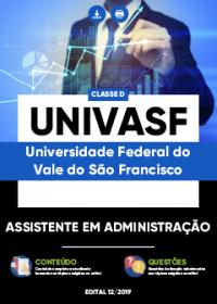 Assistente em Administração - UNIVASF