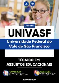 Técnico em Assuntos Educacionais - UNIVASF