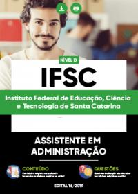 Assistente em Administração - IFSC