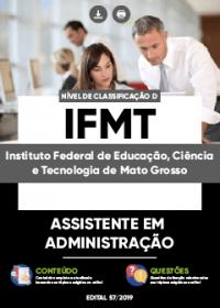 Assistente em Administração - IFMT