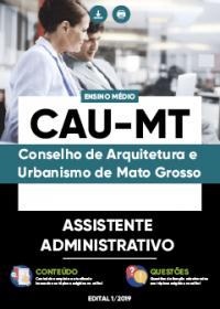 Assistente Administrativo - CAU-MT
