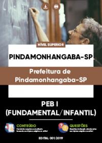 PEB I (Fundamental-Infantil) - Prefeitura de Pindamonhangaba-SP