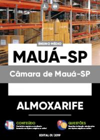 Almoxarife - Câmara de Mauá-SP