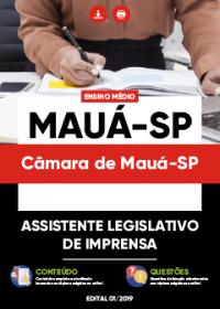 Assistente Legislativo de Imprensa - Câmara de Mauá-SP