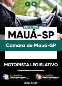 Motorista Legislativo - Câmara de Mauá-SP