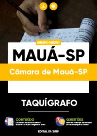 Taquígrafo - Câmara de Mauá-SP
