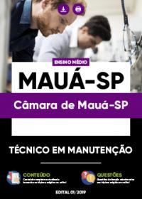 Técnico em Manutenção - Câmara de Mauá-SP