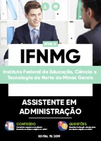 Assistente em Administração - IFNMG