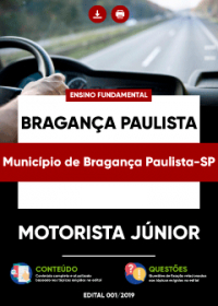 Motorista Júnior - Prefeitura de Bragança Paulista-SP