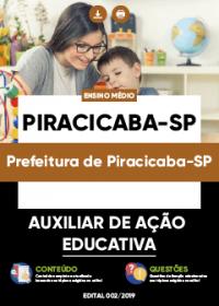 Auxiliar de Ação Educativa - Prefeitura de Piracicaba-SP